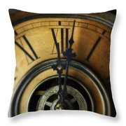 Just Past Midnight Throw Pillow