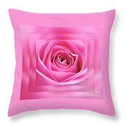 Just Pink Throw Pillow