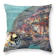 Just Saying Hello Throw Pillow