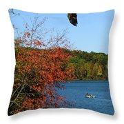 Juvenile And Fishermen Throw Pillow