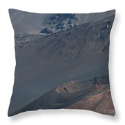Ka Lua O Ka Oo Haleakala Volcano Maui Hawaii Throw Pillow