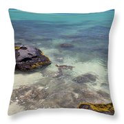 Kahena Rocks Throw Pillow