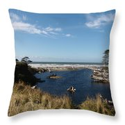 Kalaloch Throw Pillow