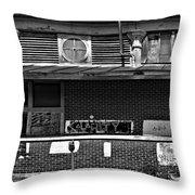 Kalamity Monochrome Throw Pillow