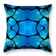 Kalidescope 1 Throw Pillow