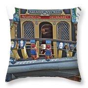 Kalmar Nyckel One Throw Pillow