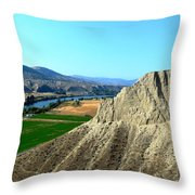 Kamloops British Columbia Throw Pillow