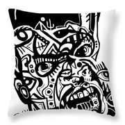 Kamoni-khem Throw Pillow