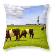 Kampen - Sylt Throw Pillow