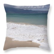 Kapukaulua - Purely Celestial - Baldwin Beach Paia Maui Hawaii Throw Pillow