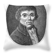 Karl Philipp Moritz Throw Pillow