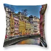 Karlovy Vary - Ceska Republika Throw Pillow