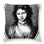 Karoline Michaelis Throw Pillow