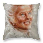 Katherine Hepburn Throw Pillow