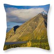 Kathleen Lake, Kluane National Park Throw Pillow