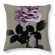 Kathleen's Garden Rose Throw Pillow