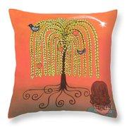 Katlyn's Wish Throw Pillow