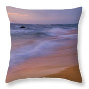 Kauai Beach 0821 Throw Pillow