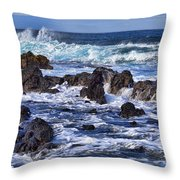 Kauai Beach 3 Throw Pillow