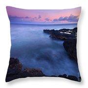 Kauai  Pastel Tides Throw Pillow
