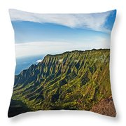 Kaulalu Panorama Throw Pillow