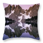 Kearsarge Lake Reflects The Nearby Throw Pillow
