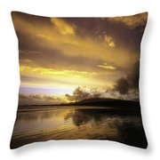 Keel, Achill Island, Co Mayo, Ireland Throw Pillow