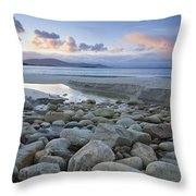 Keem Strand, Achill Island, Co Mayo Throw Pillow