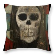 Keep Hal In Halloween Throw Pillow