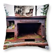 Keep The Oven Warm Throw Pillow