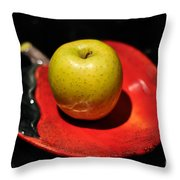 Keeping The Doctor Away Throw Pillow