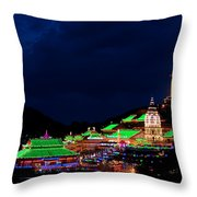Kek Lok Si Temple Of Penang Throw Pillow