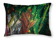 Kelp Forest Throw Pillow