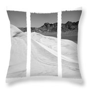 Kelso Dunes Triptych Throw Pillow