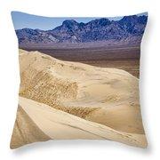 Kelso Sand Dunes 2 Throw Pillow