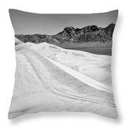 Kelso Sand Dunes Bw Throw Pillow