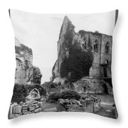 Kenilworth Castle - England - C 1897 Throw Pillow