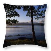 Kenmare Bay, Ring Of Kerry In Bg, Co Throw Pillow