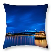 Kennedy Bridge - Bonn Throw Pillow