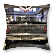 Kennedy Limo Throw Pillow