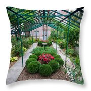 Kentlands Greenhouse Throw Pillow