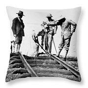Kenya-uganda Railway 1901 Throw Pillow