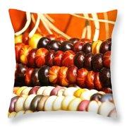 Kernel Close Up Throw Pillow