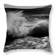 Kersplash Throw Pillow