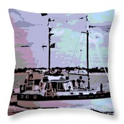 Ketch Throw Pillow