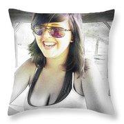 Keyona Throw Pillow