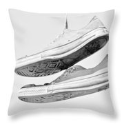 Kickzz Throw Pillow