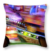 Kiddie Ride Throw Pillow