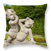 Kids At Play Throw Pillow