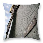 Kienlen-harbeck Building 1900 Throw Pillow